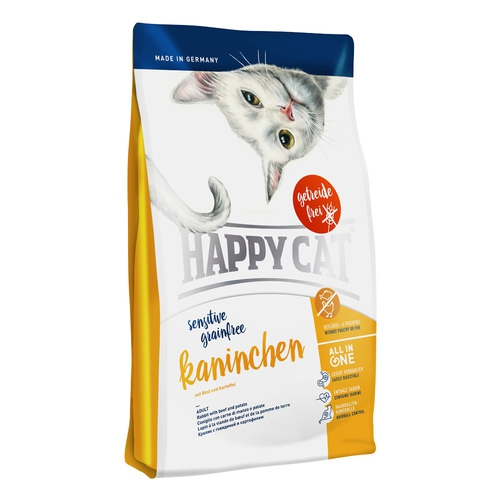 Happy Cat Sensitive Grainfree Kaninchen (králík) 4kg