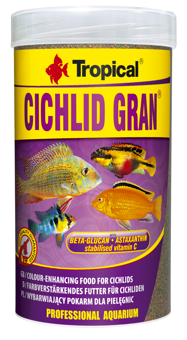 Tropical Cichlid Gran 100ml (55g)