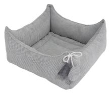 Rajen bed, 40x40 or 50x50cm, light gray