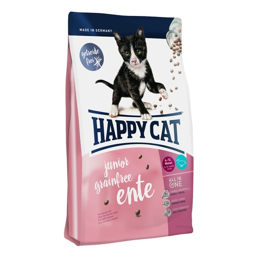 Happy Cat Supreme Junior Grainfree Ente (kachní) 4kg
