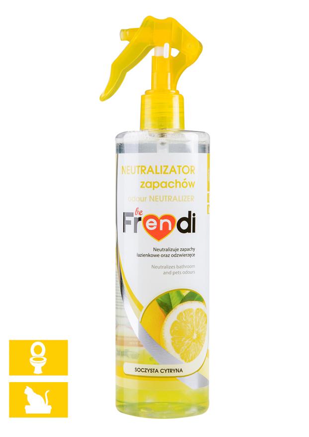 beFrendi neutralizátor zápachu Citron sprej 400ml
