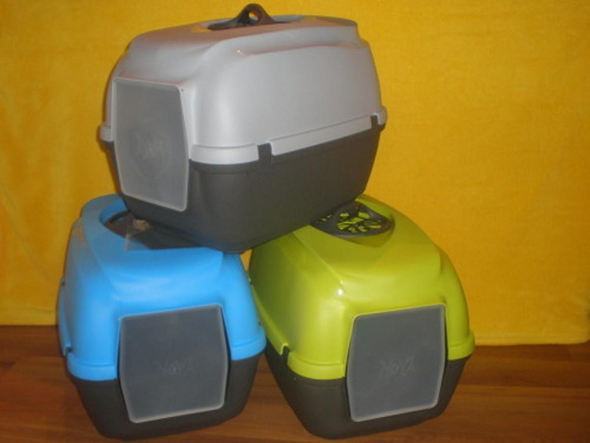 MPS toaleta pro kočky Nova krytá s filtrem 56x40x40,5cm