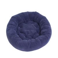 Rajen round cat bed 50cm, blue bubbles