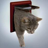 Průchozí dvířka Trixie Freecat Deluxe 21x21cm