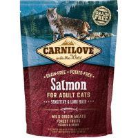 Carnilove Cat Salmon Adult Sensitive & Long Hair 0,4kg