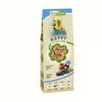 Nestor krmivo Premium pro malé papoušky s rybízem, jablky a jódem 700ml (530g)