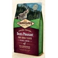 Carnilove Cat Duck & Pheasant Adult Hairball Control 2kg