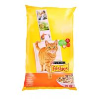 Friskies Adult Cat kuře & zelenina 10kg