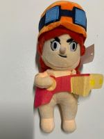 Plush character Jessie from the game Brawl Stars
