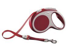 Vodítko Flexi Vario pásek M 5 m/25 kg červené