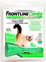 Frontline Combo Antiparazitikum Spot-on Cat pipeta sol.1 x 0.5 ml