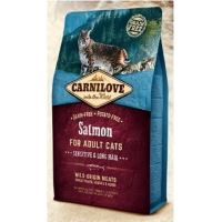 Carnilove Cat Salmon Adult Sensitive & Long Hair 6kg