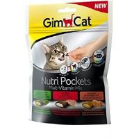 GimCat Nutri Pockets Malt-Vitamin Mix 150g