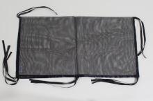 Rajen ochranná síť do dvouklece černá 120x60cm