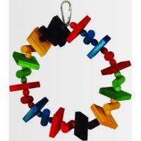 Featherland ptačí hračka Chew Ring 20cm