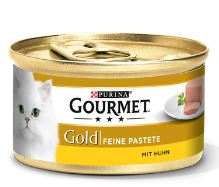 Paštika Gourmet Gold s kuřetem 85g
