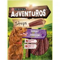 Adventuros Strips s příchutí zvěřiny 90g