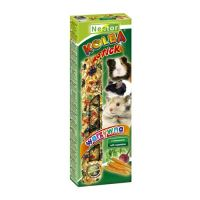 Nestor rods for rodents with vegetables 2pcs