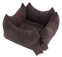 Rajen Plus Bed, 40x40 or 50x50cm, dark brown