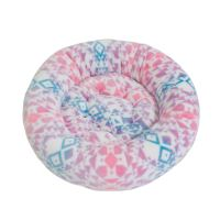Rajen round cat bed 50cm, nordic pattern
